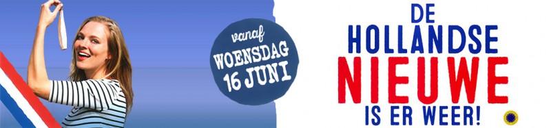 16 Juni 2021 : De Hollandse Nieuwe komen eraan!