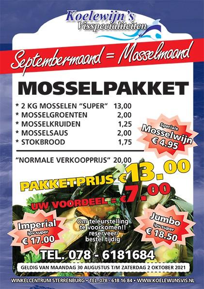 Septembermaand is Mosselmaand