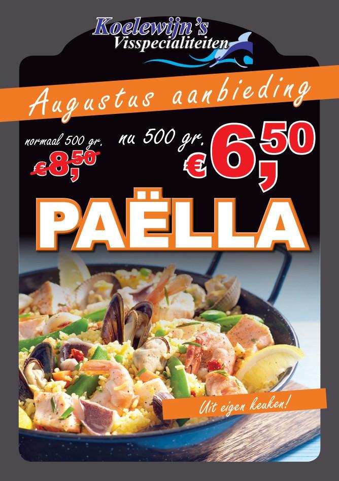 Augustus Aanbieding: Paella